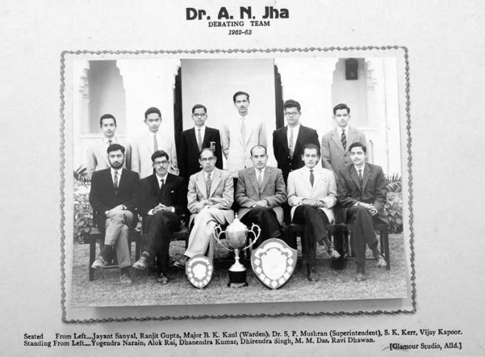 Debating Team 1962-63