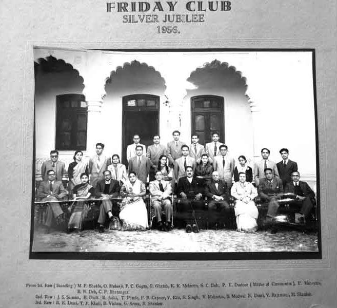 Friday Club 1956