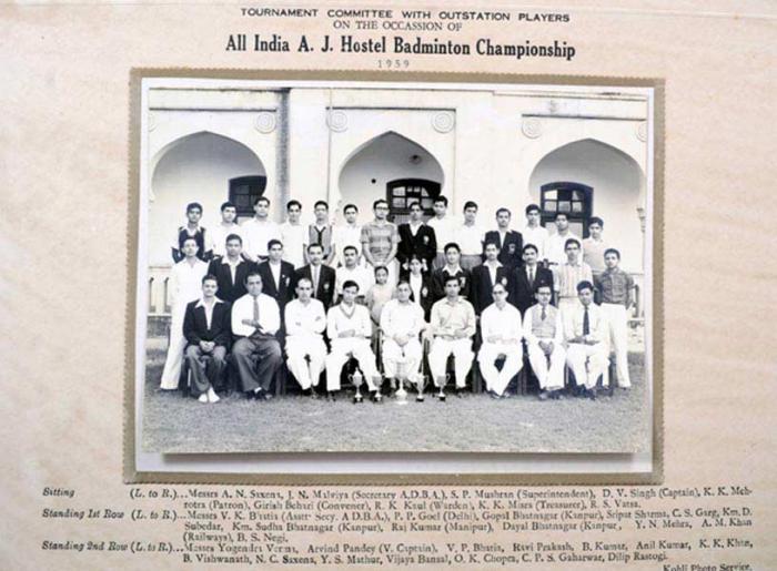 Badminton Champions: 1959
